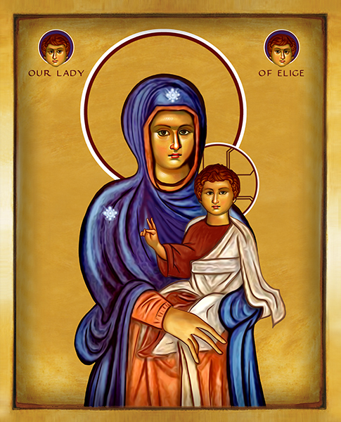Our Lady of Elige | Icon by Chady Elias | Holy Brush