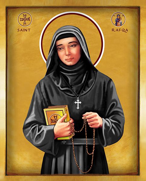 Saint Rafqa | Icon by Chady Elias | Holy Brush