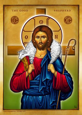The Good Shepherd | Icon by Chady Elias | Holy Brush