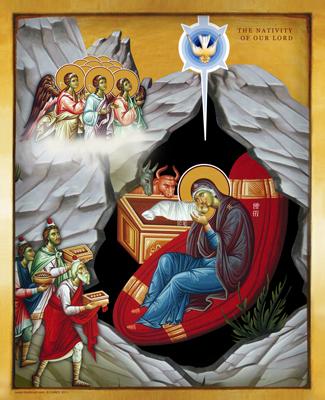 Christmas | Icon by Chady Elias | Holy Brush