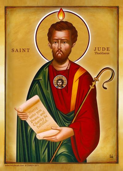 Saint Jude | Icon by Chady Elias | Holy Brush
