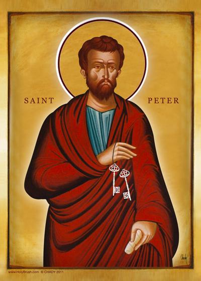 Saint Peter | Icon by Chady Elias | Holy Brush