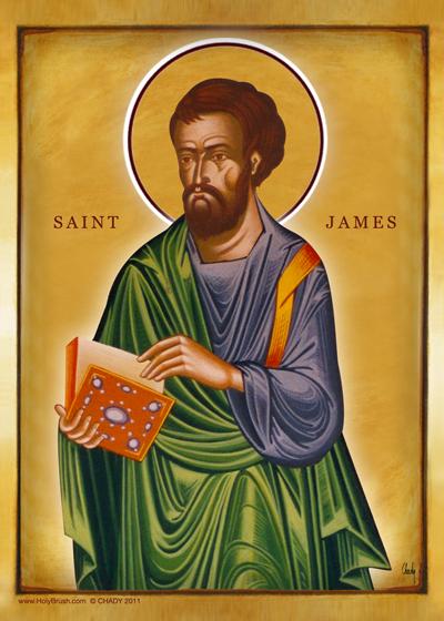 Saint James | Icon by Chady Elias | Holy Brush