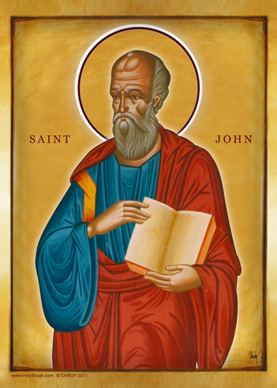 Saint John | Icon by Chady Elias | Holy Brush