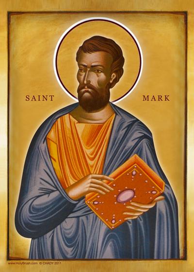 Saint Mark | Icon by Chady Elias | Holy Brush