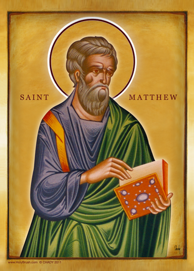 Saint Matthew | Icon by Chady Elias | Holy Brush