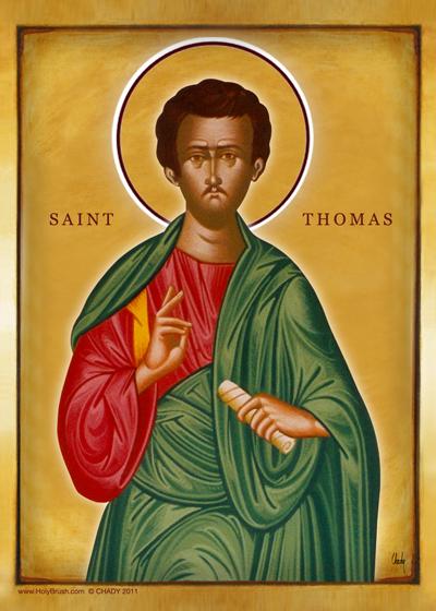 Saint Thomas | Icon by Chady Elias | Holy Brush
